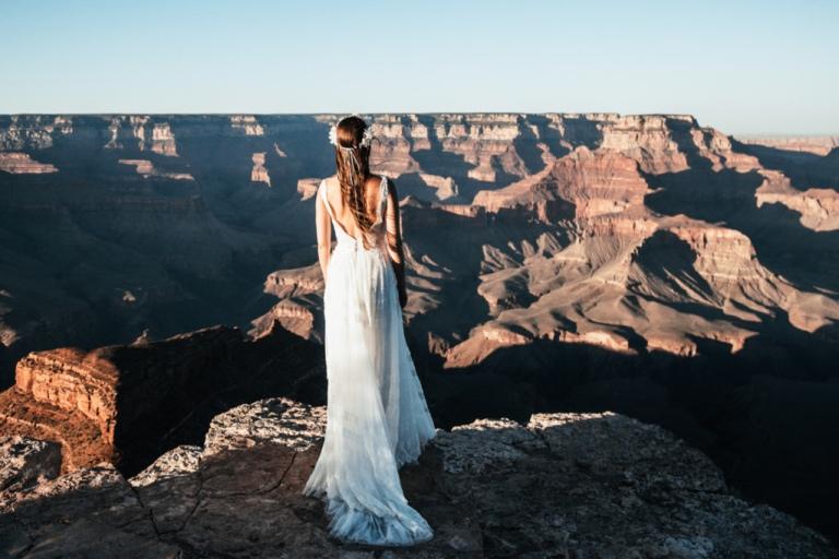 Wielki Kanion - sesja ślubna