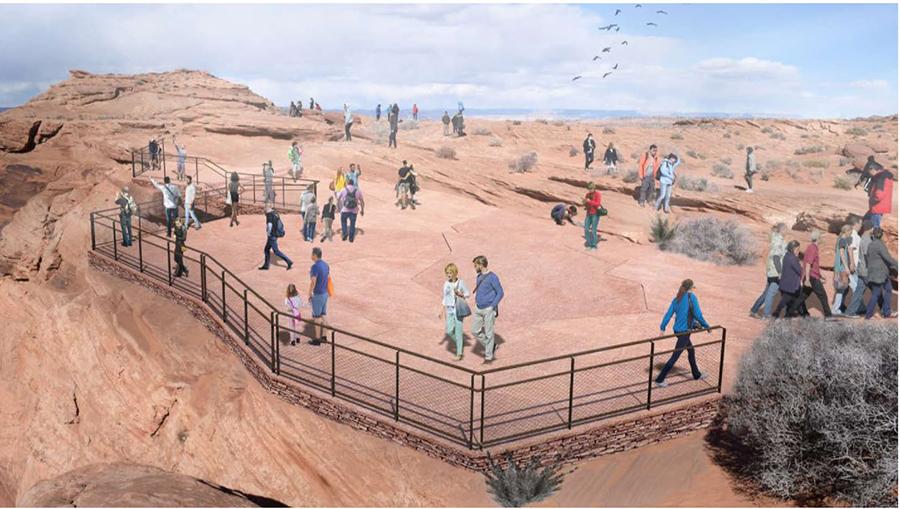 NPS Photo - koncepcja ogrodzenia