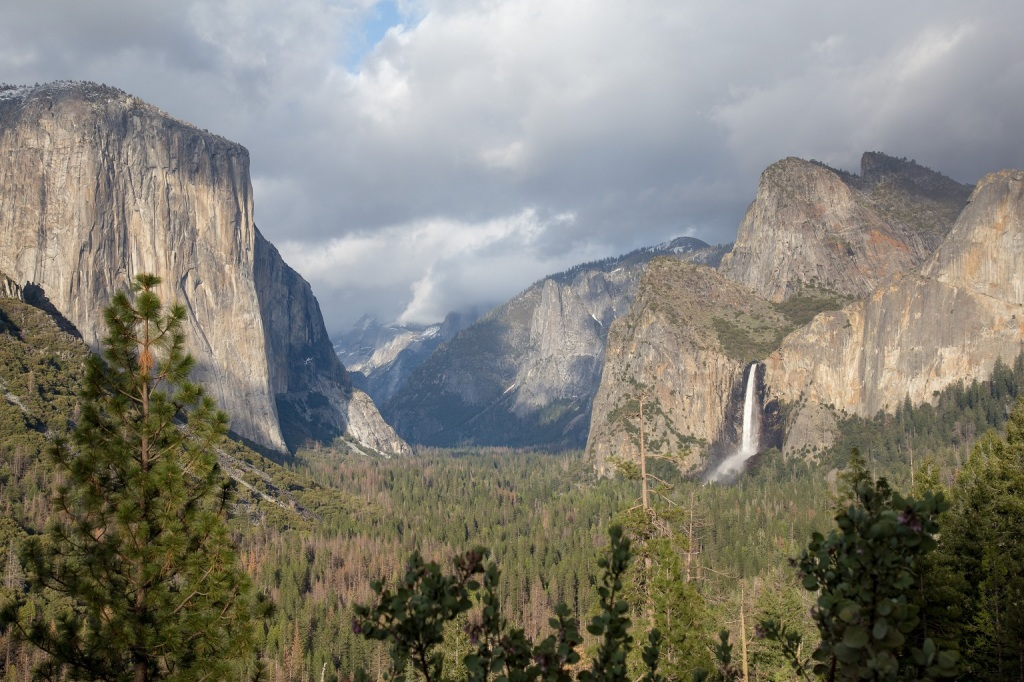 Park Narodowy Yosemite - Tunnel View