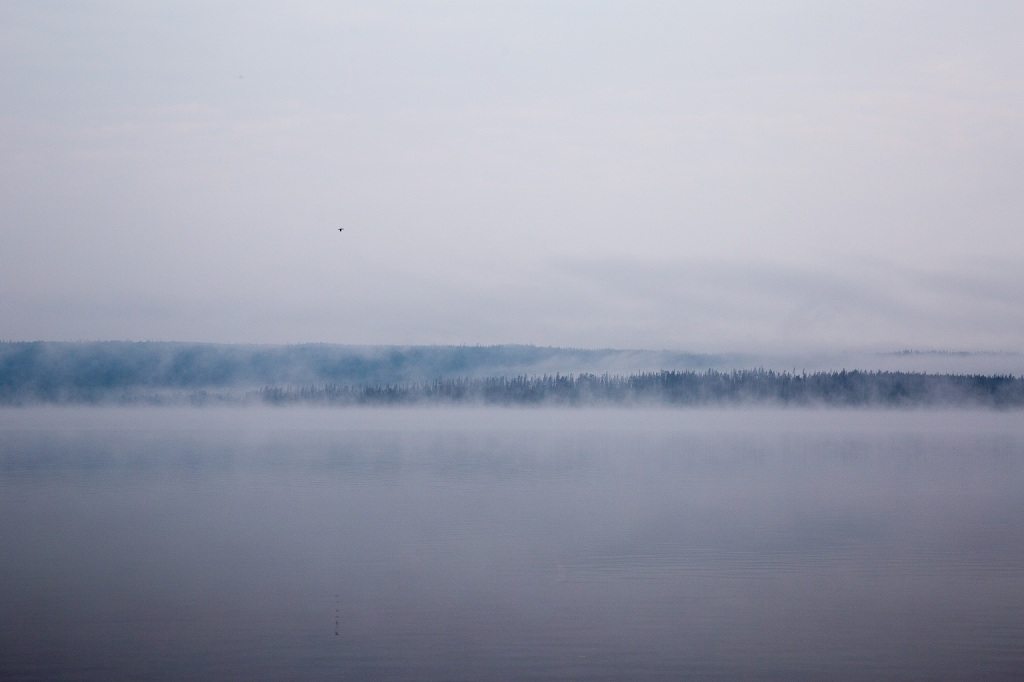 Grand Teton - mgła