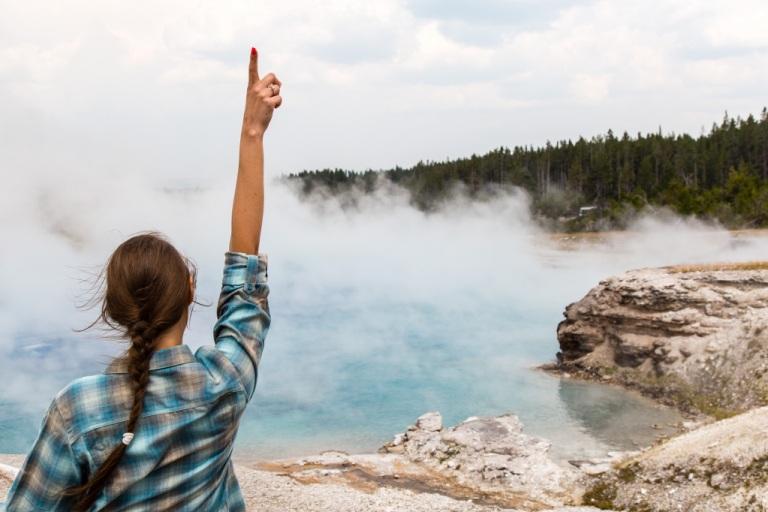 Yellowstone gorące źródło