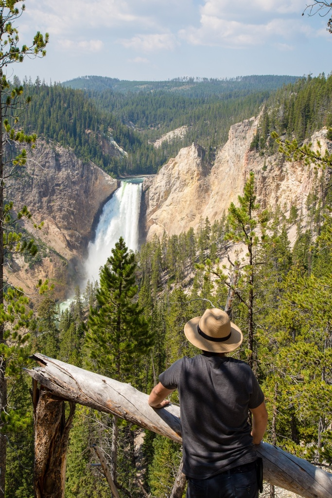 Lower Falls - Red Rock Point
