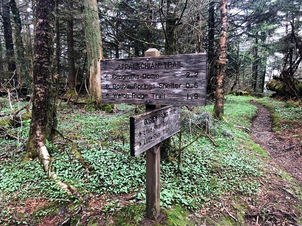 appalachian trail - znaki