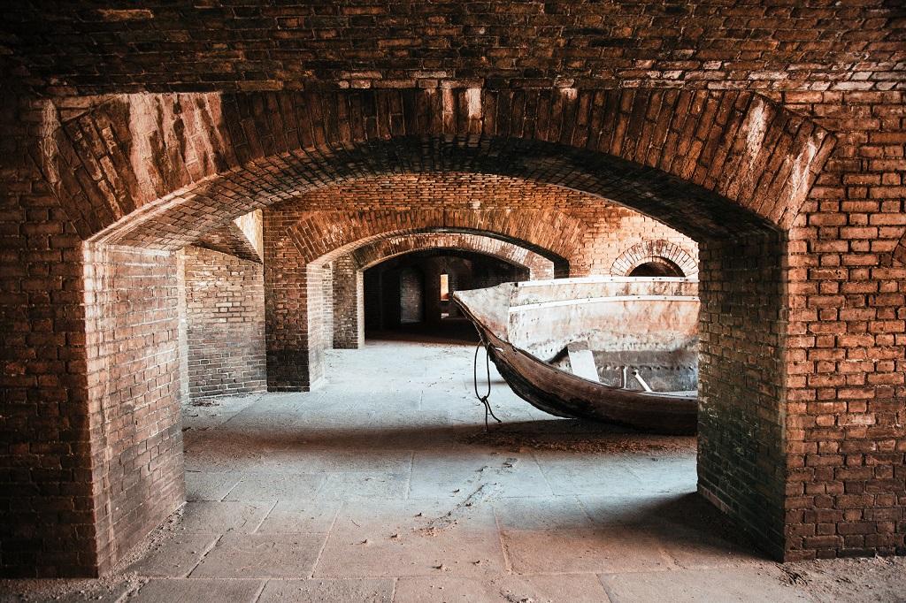 Fort Jefferson - statek
