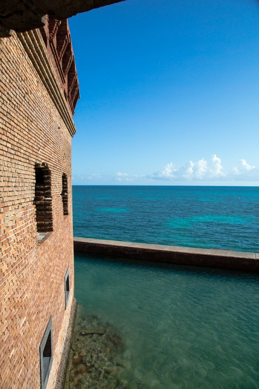 Fort Jefferson - widok