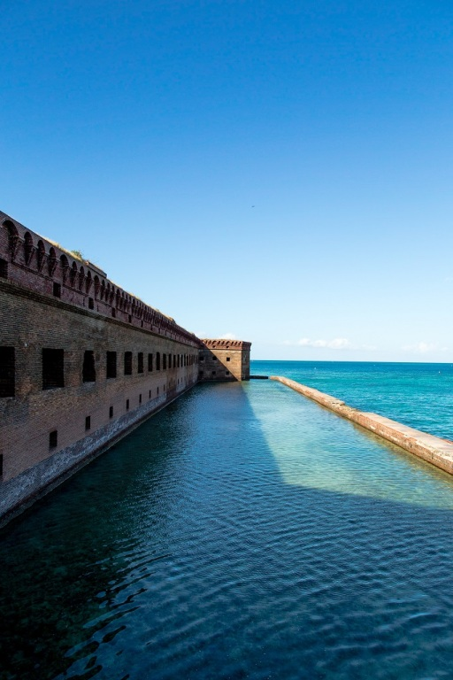 Fort Jefferson - fosa