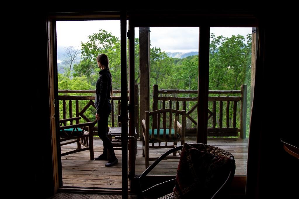 Buckberry Lodge- taras