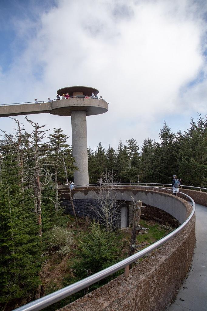 Clingmans Dome - wieża widokowa