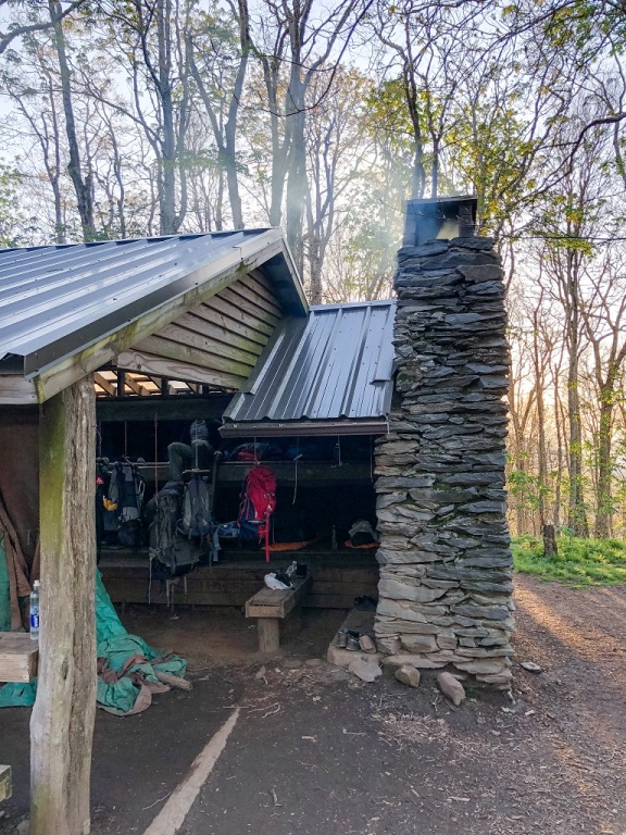 Appalachian Trail - nocleg