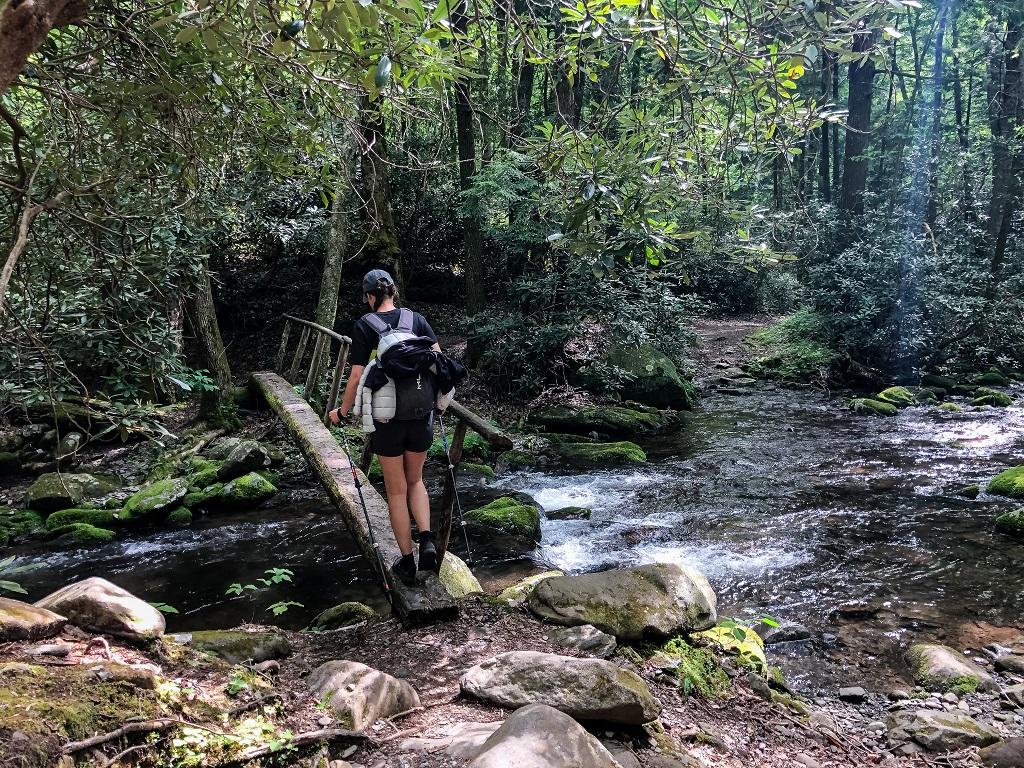 Appalachian Trail- kładka