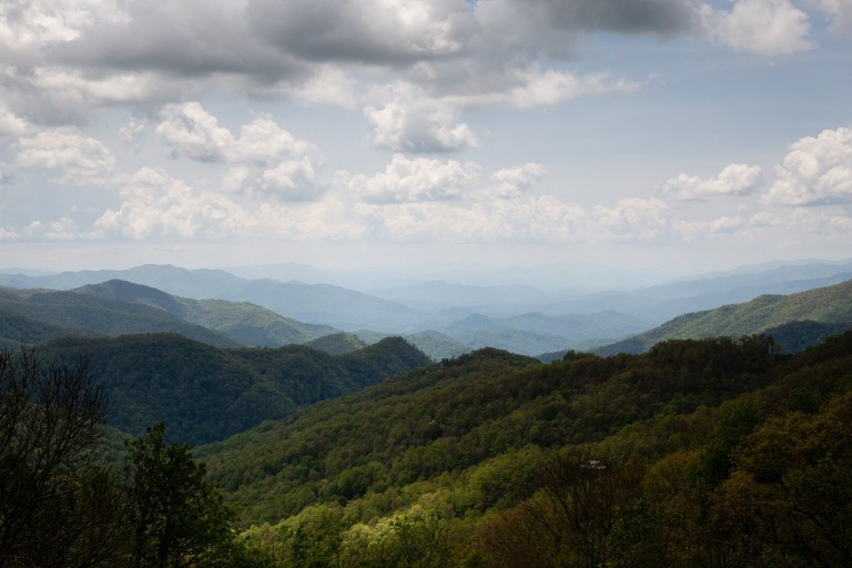 Blue Ridge Parkway - widok
