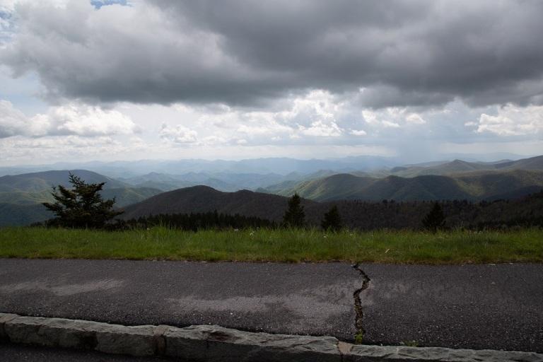 Blue Ridge Parkway - droga