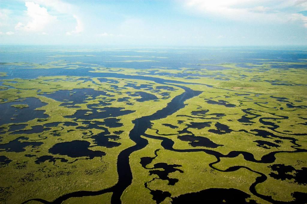 NPS Photo - Everglades z lotu ptaka