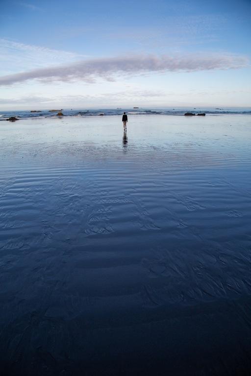 Ruby Beach - odbicie nieba