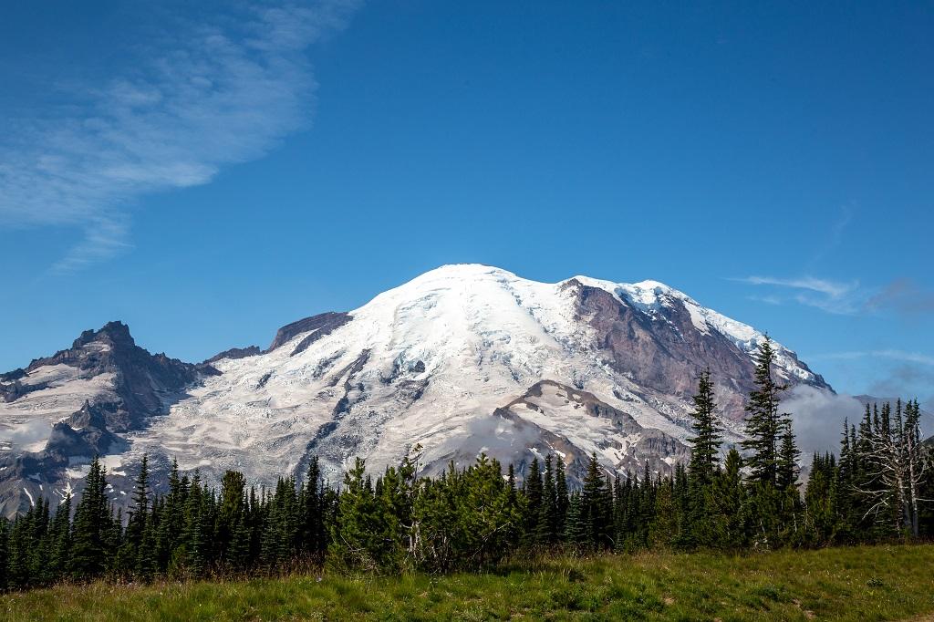 Mt. Rainier Sunrise - widok