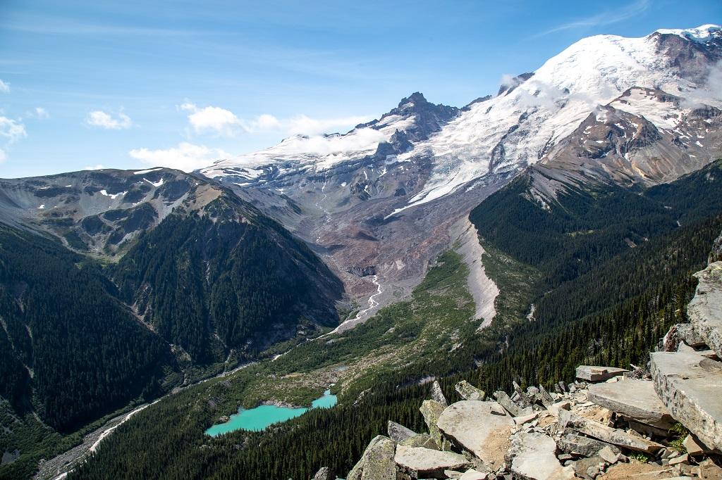 Burroughs Mountain Trail - jezioro